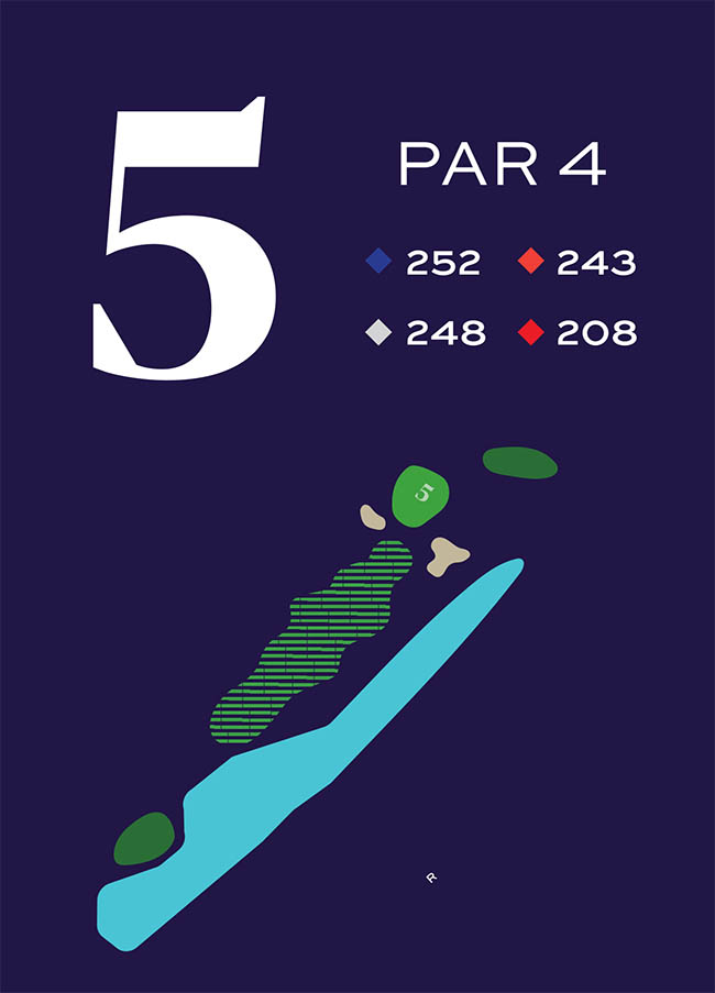 Hole 5 Distances