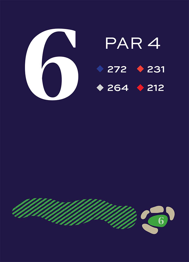 Hole 6 Distances