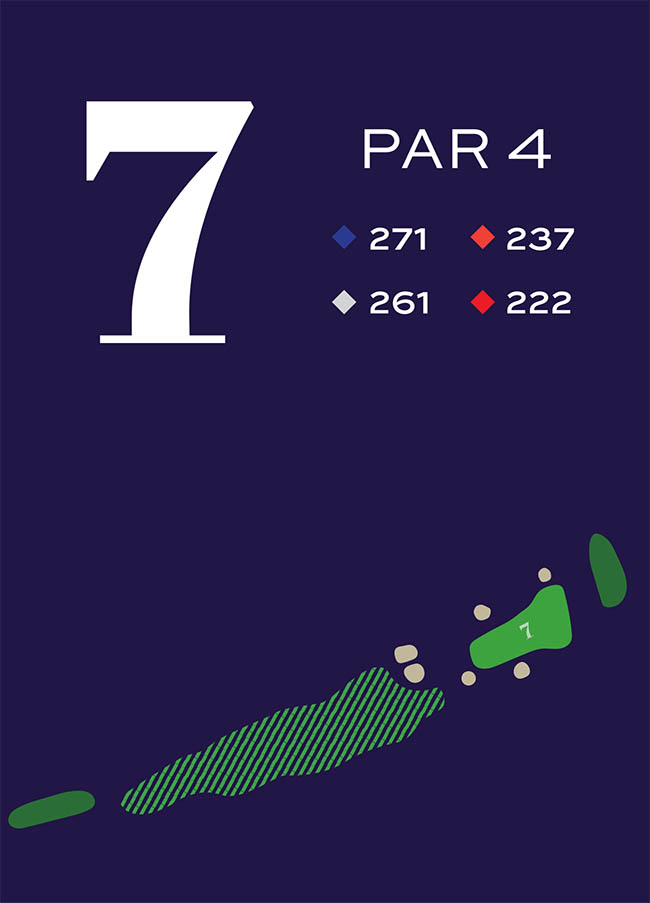 Hole 7 Distances